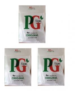 【送料込みでこの価格!】【アウトレット】【3個セット】PGティップス(80袋入り) ピラミッド型ティーバッグ